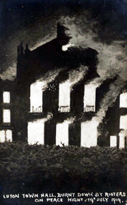 "The day they burned down the town hall over ""Peace"""